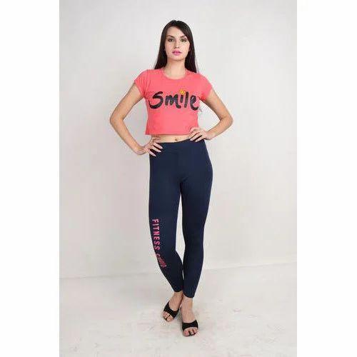0927c0730325c8 Reddit 4 Way Lycra Ladies Sports Blue Legging, Rs 180 /piece | ID ...
