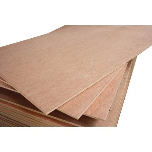 Poplar Waterproof Rectangular Plywood, Thickness: 6 mm