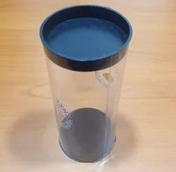 Pvc Cylindrical Container
