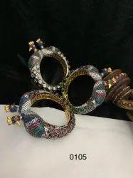 Malti Peacock Designer Bracelet