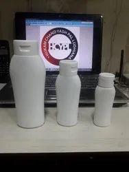 HDPE Flip Top Shampoo Bottle