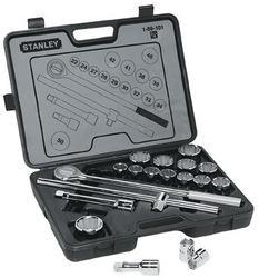 19pc. 3/4 sq.dr.12pt socket set