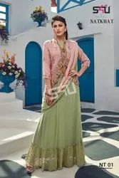 S4u Natkhat Stunning Look Beautifully Designed Wedding Outfit Gowns