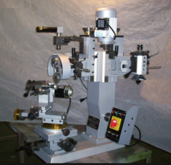 Ring Diamond Cut Faceting Machine
