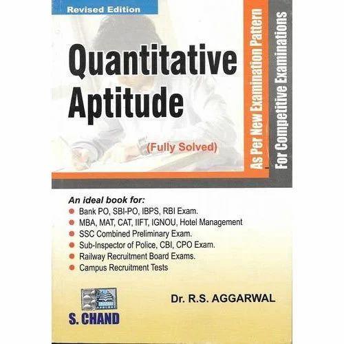 Quantitative Aptitude Rs Agarwal Book