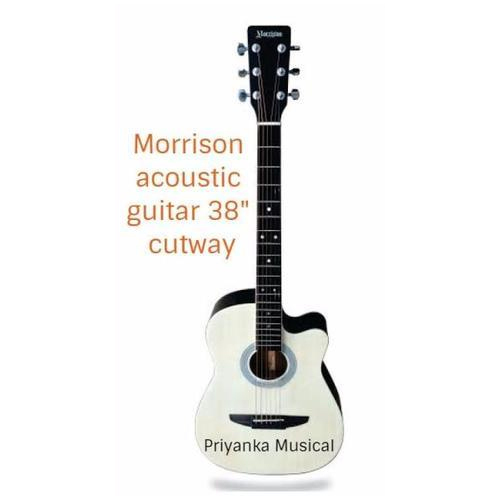 8472cd02c30 Acoustic Guitars Natural Morrison Acoustic 38