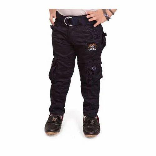 bae6cb7332b Cotton Boys Stylish Cargo Pant