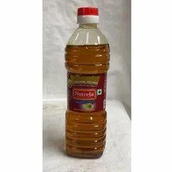 500 ml Nutrela Kachi Ghani Mustard Oil Bottle