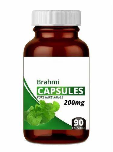 Brahmi Capsule, Packaging Type: Plastic Bottle, Grade Standard: Food