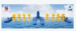 8 Paddle Long Arm Aerator
