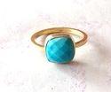 Green Monolisa Ring