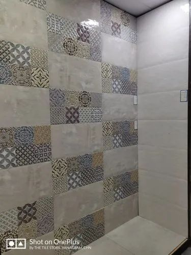 decorative bathroom wall tile size large 12 inch x 12