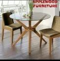 Applewood Furniture Only Saaghwood Wooden Round Dining Table 4 Chair
