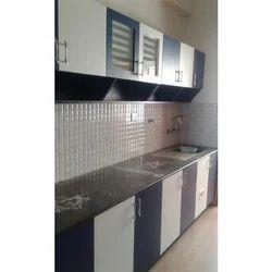 Classic Plywood Straight Modular Kitchen, In Tamil Nadu, Warranty: 5-10 Years