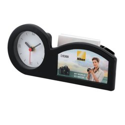 Decorative Table Clocks Cum Pen Stand