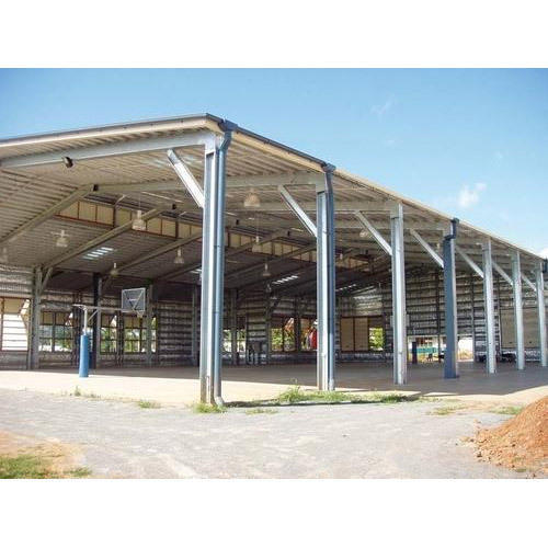 Prefabricated Industrial Structures Shed