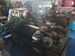 Used & Old Machine  - Victor Lathe  Machine Between Center 1 Meter