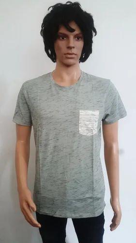 1cea799b Men Lycra Cotton T Shirt, Size: Large, Rs 220 /piece, RK Clothin ...