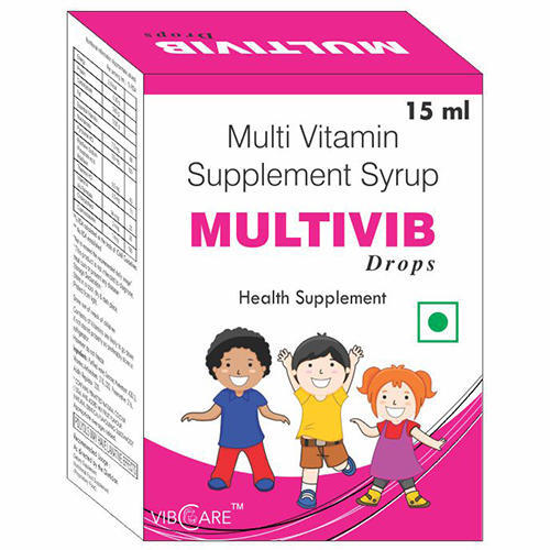 Multivitamin Drop With Dropper