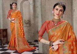 Stylish Designer Cotton Silk Saree