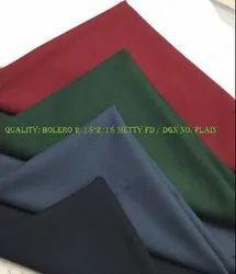 High Quality Woven Plain School Uniform Suiting Fabric