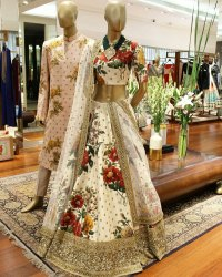 Weading Wear Printed  Lehenga Choli