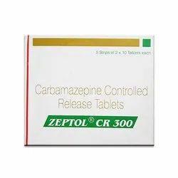 Carbamazepine Zeptol Cr 300 Tablets