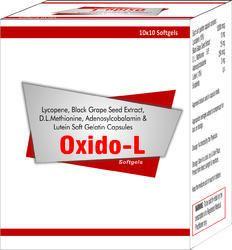 Lycopene Black Grape Seed Extract Capsules D.L. Methionine Adenosylcobalamin and Lutein Soft Gelatin