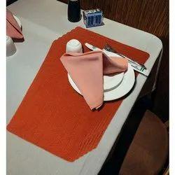 Brown Orange Table Placemat