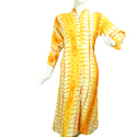 Ladies 3/4th Sleeve Rayon Fancy Kurti, Size: S To Xl