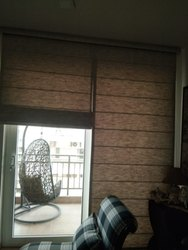 Ddecor Fabric Roman Blinds