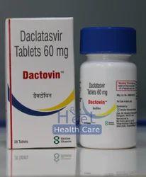 Dactovin Daclatasvir Dihydrochloride 60mg