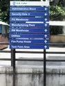Direction Boards For Industrial Sites