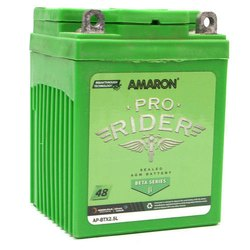 Capacity: 5 Ah Amaron Bike Batteries, AP-BTX2.5L