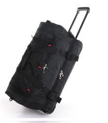 Plain Polyester Travel Trolley Bag, For Travelling