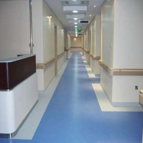 Light Industrial Construction Cost Per Square Foot: Blue Hospital PVC Flooring, Rs 60 /square Feet, House 2
