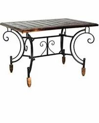divine 28 Wrought Iron Coffee Table