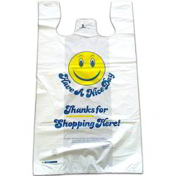 T-Shirt Printed Plastic Carry Bags