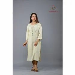 Rel 27 Cotton Embroidered Kurti