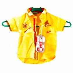 Cotton Regular Wear Kids Casual Shirt