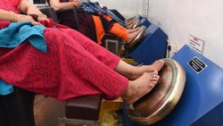 Kansya Thali Foot Massage Machine