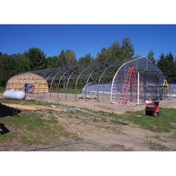 Polycarbonate Closed Greenhouse