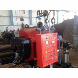 Oil & Gas Fired 1000 Kg/hr Hot Water Horizontal Steam Boiler