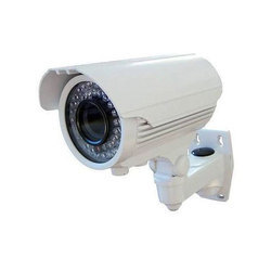 White CCTV Bullet Camera, For Outdoor Use