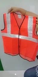 Knitted Fabric Construction Safety Jacket