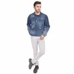 Skupar Rugged Fit Men Denim Jacket