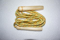 Skipping Rope With Wooden Handle