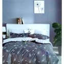 Grey Double Bed Sheet