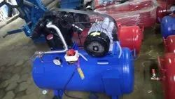 Air Compressor 1hp Motor With 110 Ltr, Maximum Flow Rate (CFM): 3cfm, Model Number/Name: 1hp/110ltr-techno-s