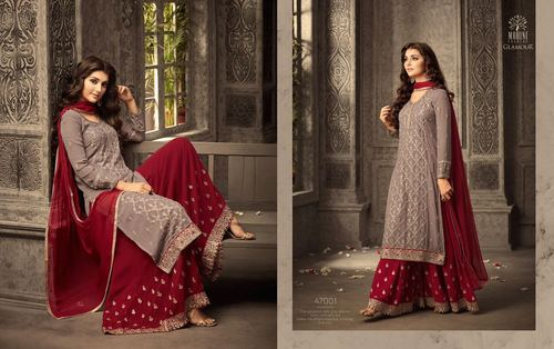 6296503ab5 Mohini Glamour Shantoon Sharara Suit, Rs 1950 /piece, Khans Creation ...